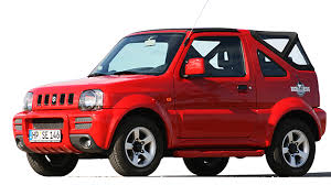 Suzuki Jimny Convertible or Similar  <br>  (Group G)