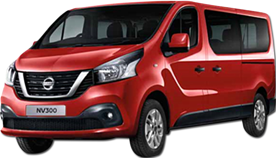 Nissan NV300 9 seater Diesel or Similar <br>  (Group L)